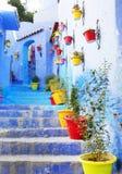 Medina of Chefchaouen, Morocco Royalty Free Stock Photo