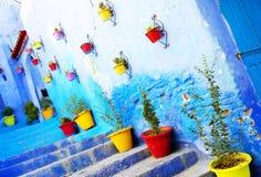Medina of Chefchaouen, Morocco Stock Photography
