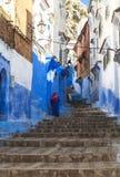 Medina of Chefchaouen, Morocco Stock Photo