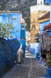 Medina of Chefchaouen, Morocco. The Medina de Chefchaouen - also known as Chaouen or Xauen - is a small and calm evironment.When entering one of the five stock images