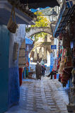Medina of Chefchaouen, Morocco Stock Image