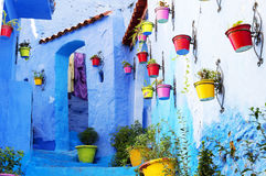 Medina de Chefchaouen foto de stock royalty free