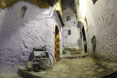 Medina de Marrocos com inabilidade Fotografia de Stock Royalty Free