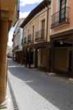 Medina de Rioseco - arcades Photos libres de droits