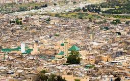 Medina di Fes nel Marocco Fotografie Stock Libere da Diritti