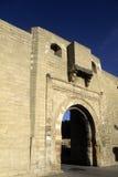 Medina doorway- Tunisia Stock Photo