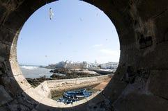medina e vecchio essaouira Marocco Africa della città Fotografia Stock Libera da Diritti