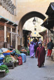 The medina of Fez Royalty Free Stock Photos