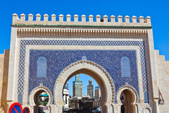 Medina Gate in Fes Royalty Free Stock Image