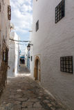 Medina gränd Royaltyfria Bilder