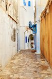 Medina of Hammamet. Old town. Royalty Free Stock Photography
