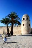 Medina i Tunisien Royaltyfri Bild