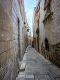 Medina in Malta Stockfoto