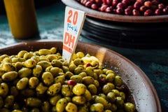 Medina Market Casablanca. Olive Orange stock photo