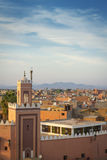 Medina of Marrakesh. Historical walled city of Marrakesh Stock Images