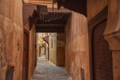 Medina Meknes, Maroko Fotografia Royalty Free