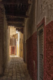 Medina of Meknes, Morocco. Streets of Meknes showing buildings, architecture and colors Royalty Free Stock Image