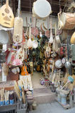 Medina Music Shop. Music Shop in the Medina of Fez Morocco Stock Photography