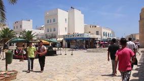 Medina - old town Tunisia Sousse stock video footage
