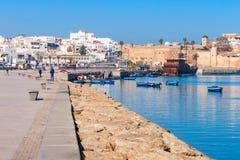 Medina in Rabat stock image