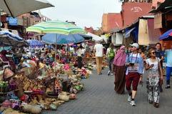 Medina rynek Obrazy Royalty Free