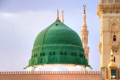 Medina/Saudi Arabia - May 30, 2015: Prophet Mohammed Mosque, Al Masjid an Nabawi
