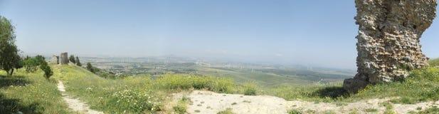 Medina Sidonia vom Gipfel Lizenzfreies Stockbild