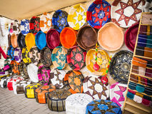 Medina souk Fez, artisan shop,Morocco. Stock Images