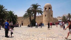 Medina in Sousse, Tunesien stock footage
