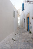 Medina of Sousse with white architectures Stock Photos