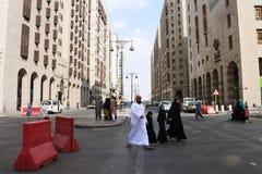 Medina stadssikt, Saudiarabien Fotografering för Bildbyråer
