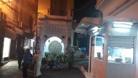 Medina tangier city. Old Medina in tangier by night Stock Image
