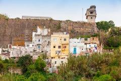 Medina Tangier, Maroko Starzy utrzymanie domy Obraz Stock