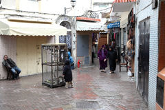 Medina of Tangier, Morocco Royalty Free Stock Photo
