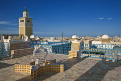 The medina of Tunis stock photo