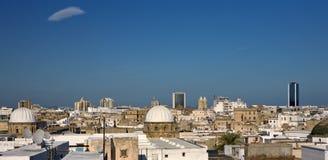 medina tunis royaltyfri bild
