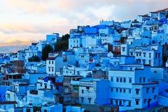 Medina van Chefchaouen, Marokko Royalty-vrije Stock Afbeeldingen