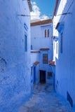 Medina van Chefchaouen, Marokko stock foto's