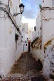 Medina velho Marrocos tetouan fotos de stock