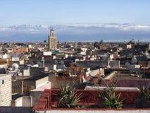 Medina von Marrakesch lizenzfreies stockbild