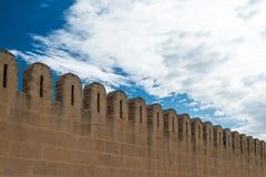 Medina Wall (2). Fortified Wall around Tunsian Old Town Stock Photo