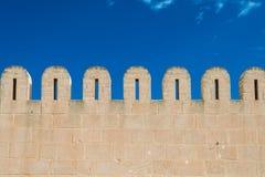 Medina Wall (1). Fortified Wall around Tunsian Old Town Stock Photo
