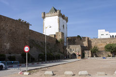 Medina walls of Asilah in northern Morocco Royalty Free Stock Photography