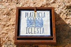 Medinaceli, Spanien Stockfotos