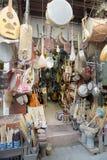 medinamusik shoppar Arkivbild
