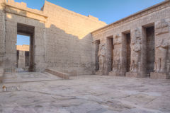 Medinet Habu in Luxor, Egypt Royalty Free Stock Photos