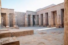 Medinet Habu in Luxor Stock Image