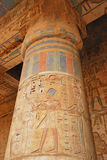Medinet Habu temple Royalty Free Stock Images
