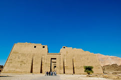 Medinet Habu Temple Egypt Royalty Free Stock Photo