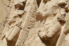 Medinet Habu Temple Egypt Stock Photography